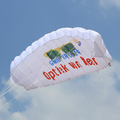 advertising inflatable promotional parafoil kite