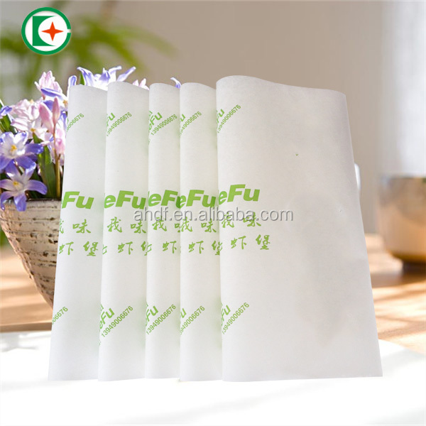 PE coated paper for fast food packaging define burger wrapping paper