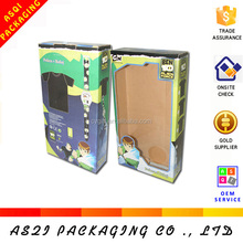 China made offset printing corrugated toy box with PVC window