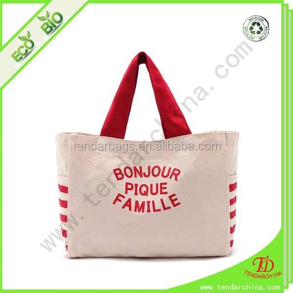 Wholesale Canvas Shoulder Bag For Shopping Or Travel Carry
