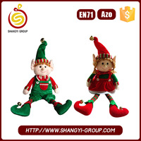 Wholesale Elf Toy Plush Christmas Elf On The Shelf china supplier