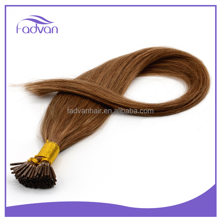 Unprocessed human hair I tip hair extensions fast shipping #12 #24 #27 #30 #60 #613 Virgin peruvian hair