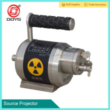 Gamma ray radioactive detector pipe detection