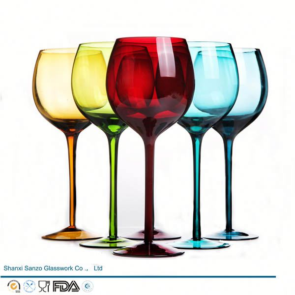 Sanzo Handmade Glassware Manufacturer engraved wine glass party favors