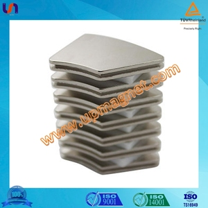 Strong sintered permanent rare earth neodymium magnet for motor,certificated by TS16949,ISO14001,CE,SGS