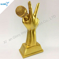 Cheap Wholesale Resin Music Awards trophy