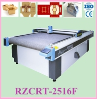Packaging Cardboard corrugated board cutting machine with auto-draging system