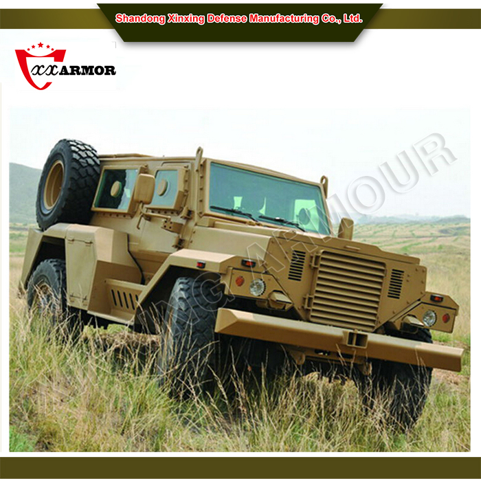 bulletproof light military vehicles 4x4 / armored car