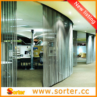 Metal mesh drapery architectural building material curtain wall