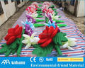 Giant inflatable flower chain decoration