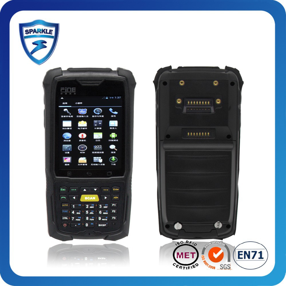GEN2 EPC UHF RFID PDA READER wince/android barcode scanner terminal