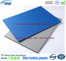 Polypropylene PP Plastic Correx Floor Protection Sheet