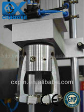 Guangzhou CX practical desktop manual shower cap capping machine for small production