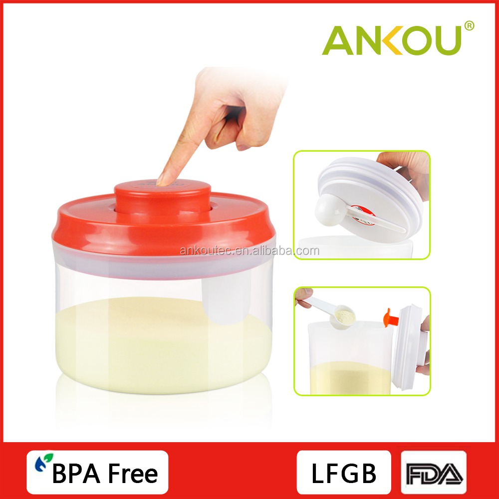Custom Logo 600ML Food Grade BPA Free Round Plastic Container/Plastic Protect Fresh Box