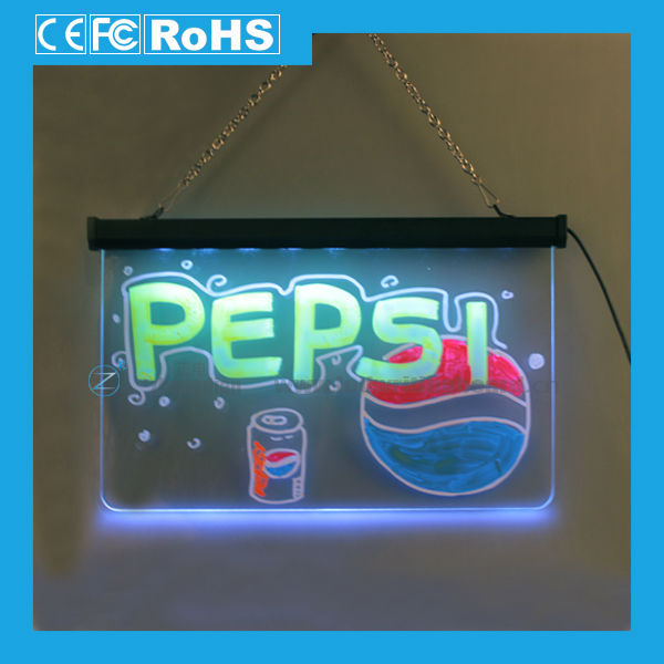 Writable Led neon sign with Alibaba Trade Assurance Service