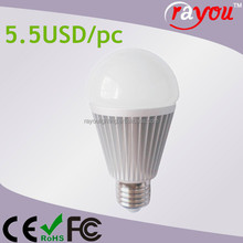 110v/230v 12w led light bulb with e19 base, warm white e19/e27 led bulb light, cheap led light bulbs made in china