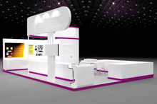 New factory price portable exhibition stall design
