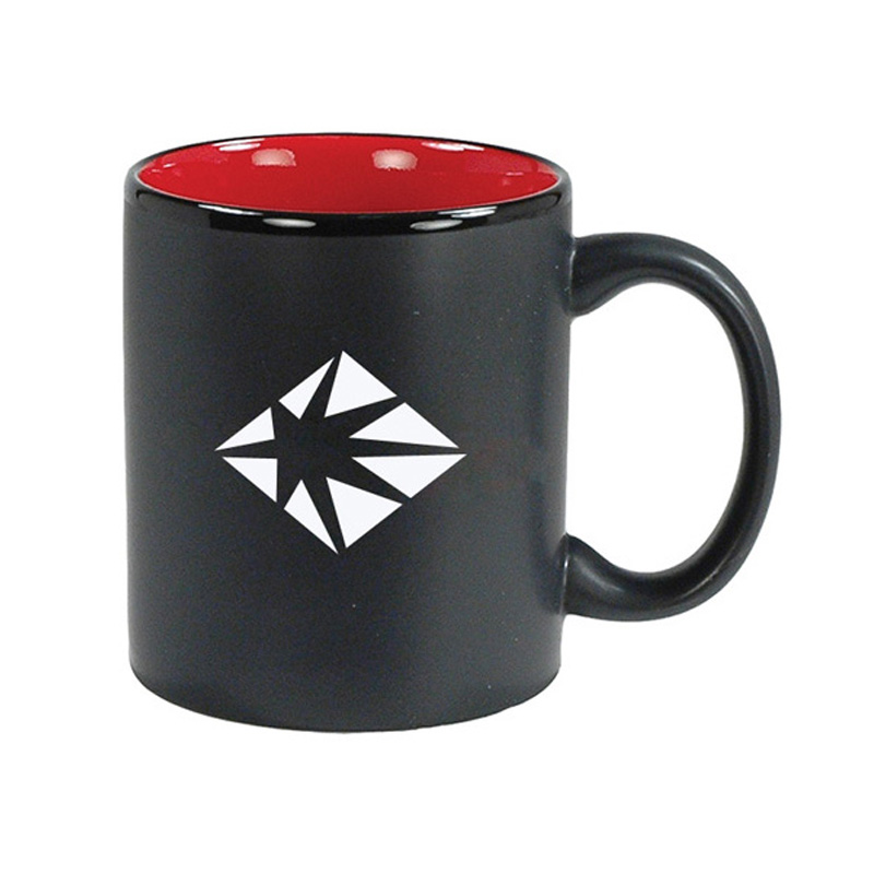 Good looking 11OZ matt black travel mug <strong>ceramic</strong>