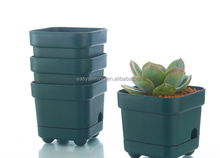 2016 hot design square plastic flower pot liners ESF0206