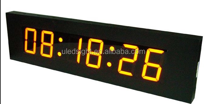 6 digits sports race outdoor led timer