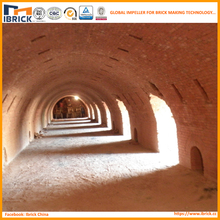 Brick hoffman kiln design and building clay brick making material industry