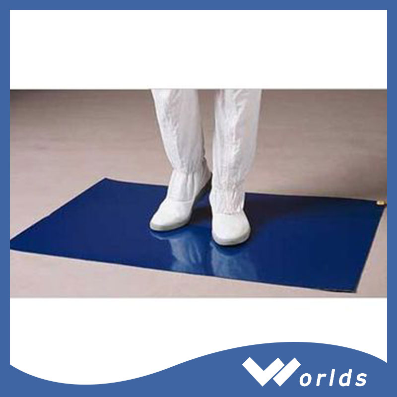 China manufacturer Antimicrobial dustproof cleanroom sticky matsticky mat