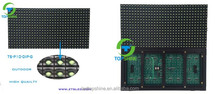 Outdoor P10 Green LED module single color LED display board 1G