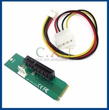 NGFF M2 to PCIE converter adapter