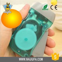 Factory price new item press led light,dynamo hand crank flashlight radio,press led light