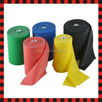 Elastic bulk wholesale theraband resistance latex rubber stretch yoga band