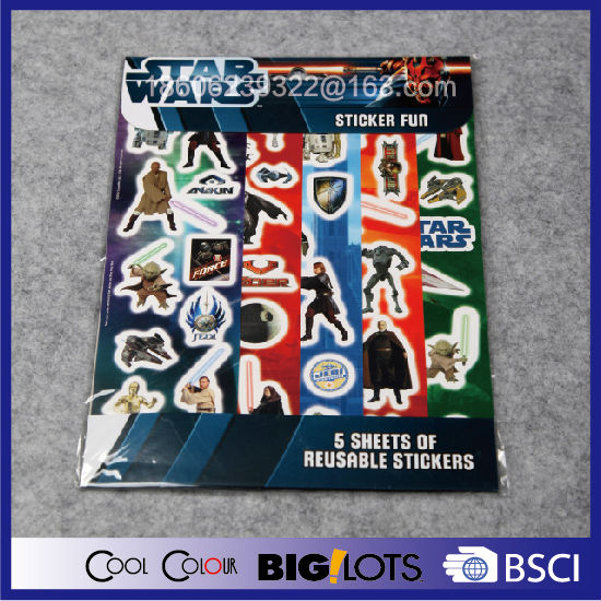 hot sale cheap paper sticker printing
