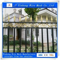 wrought iron fence new designs