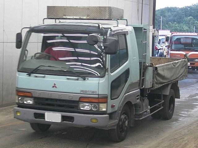 MITSUBISHI FUSO FIGHTER TIPPER TRUCK / 6D16 ENGINE