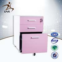 China wholesale luoyang office metal 3 drawer file cabinet / walmart filing cabinets