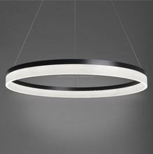 Modern Design Round 3 Ring LED Chandelier led circle ring pendant light