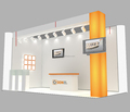 portable exhibition booth design, provide free trade show booth design from China