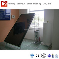 China product separated solar hot water heating system,pressure flat panel solar heater