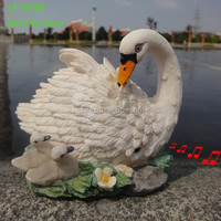 resin animal figurine for garden and home decoration