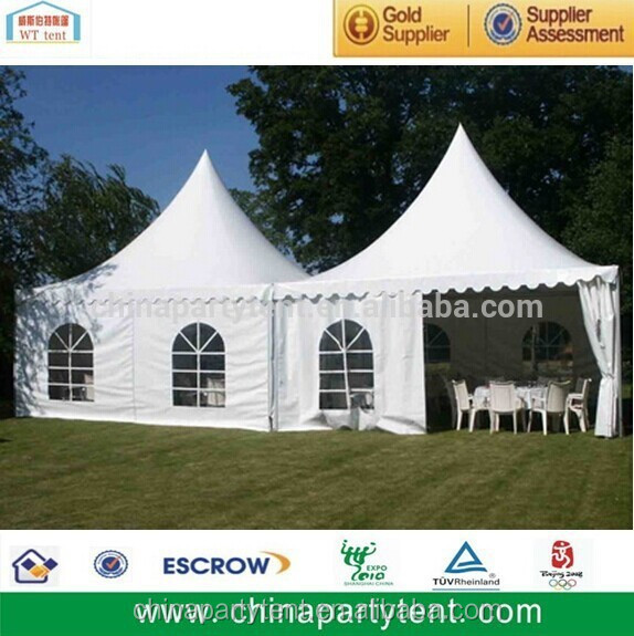 Wholesale 3mx3m Advertising Pagoda Canopy Tent With Logo Print for Sale