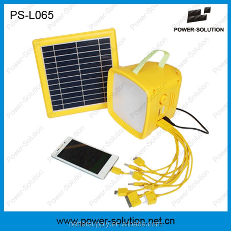 SHENZHEN Rechargeable solar table lamp with mobile charger /LED solar lantern with FM Radio