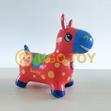 PVC Inflatable Hopper Horse Animal Kids Toy