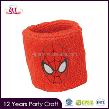 2017 New Premium Ultimate Spiderman Wrist Sweatbands Party Favors Supplies