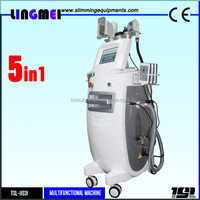 Home salon use velashape machine/cryolipolysis lipo laser cavitation infrared rf vacuum roller fat massage/low velashape price