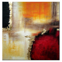 Beautiful home decor art work Hand paint canvas Abstract Oil Painting