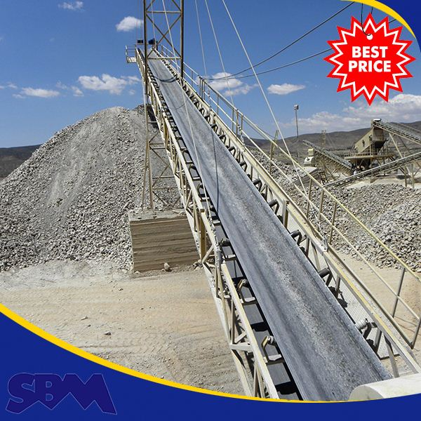 Efficient Low consumption concrete belt conveyor