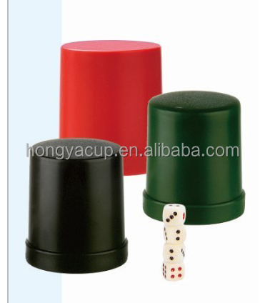 Wholesale Casino Plastic Dice Cups Ice Bucket and Shaker