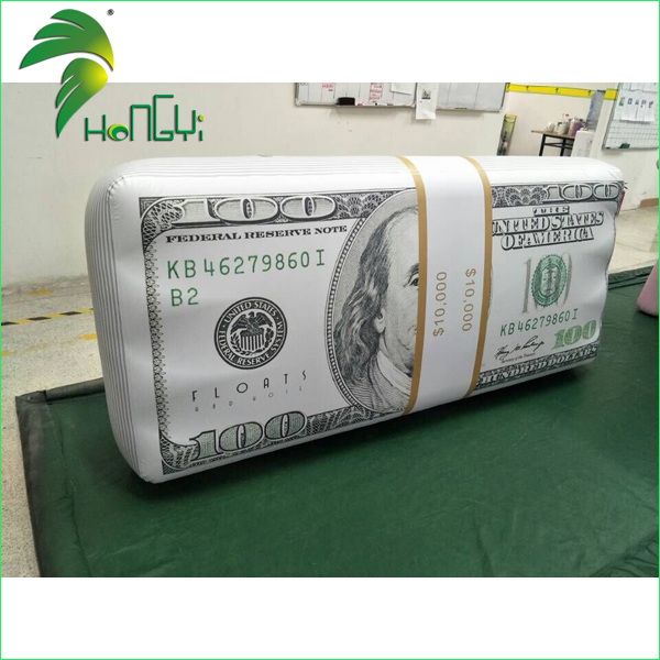 Custom Inflatable US Dollars Shape , Inflatable Money Model for Sale