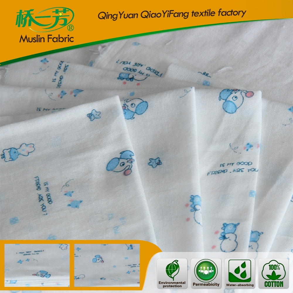 100% Cotton woven Plain Printed Dyed Fabric