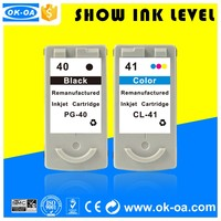 classical inkjet cartridges chip reset for canon pixma pg40
