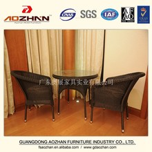 hotel furniture rattan outdoor table chair set